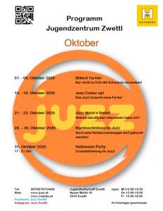 Programm Oktober 2020